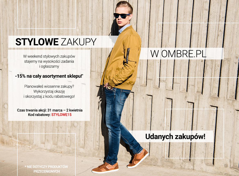 Stylowe zakupy w Ombre.pl