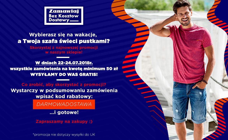 Darmowa dostawa od 50 zł